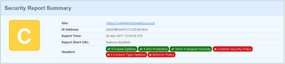 Securityheaders - Xss-Protection