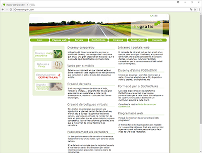 disgrafic.com - web site screenshot