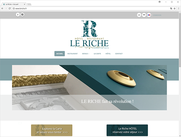 leriche.fr - web site screenshot