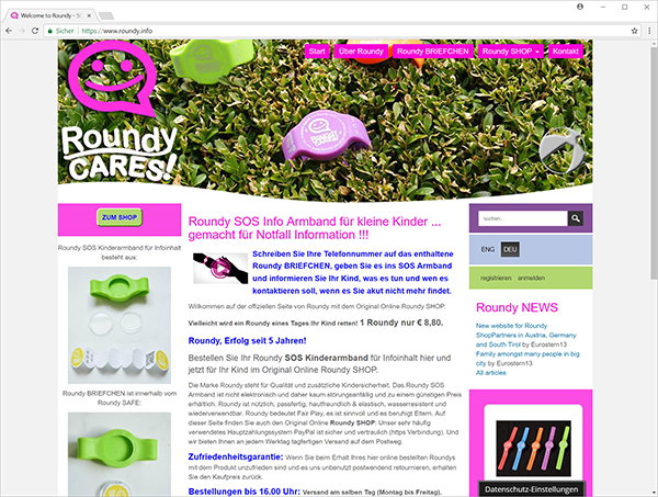 roundy.info - web site screenshot