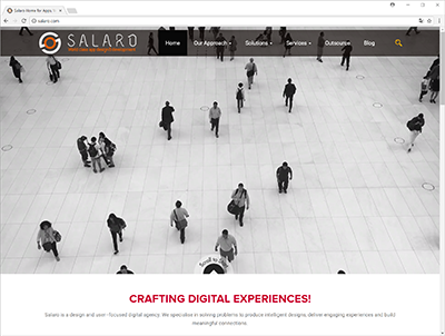 salaro.com - web site screenshot